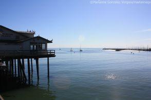 Dock in Santa Barbara, California
