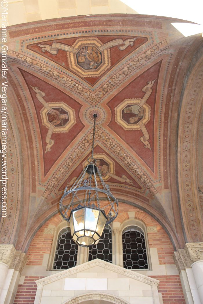 Royce Hall ceiling detail, UCLA