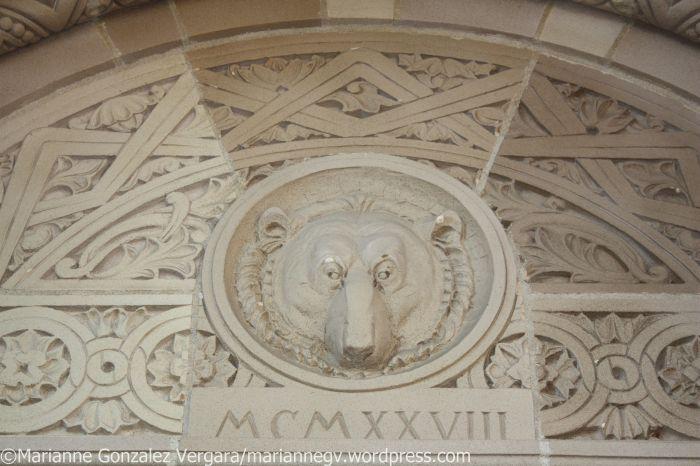 Royce Hall door detail, UCLA