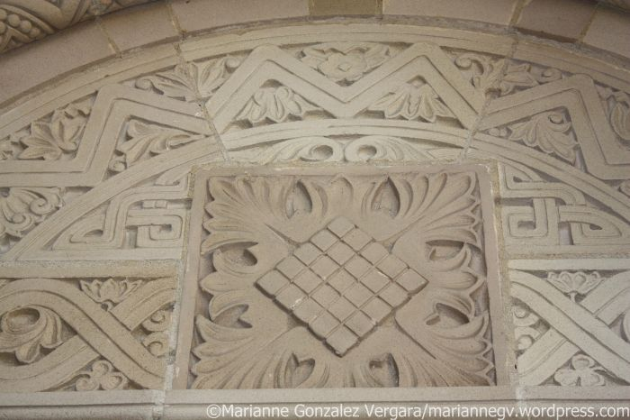 Royce Hall door detail. UCLA.