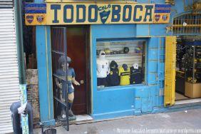 Boca Juniors Store at Barrio de La Boca, Buenos Aires, Argentina