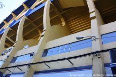 Boca Juniors Stadium at Barrio del La Boca. Buenos Aires, Argentina