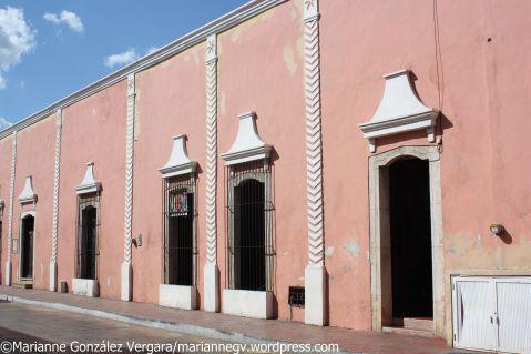 Pink facade