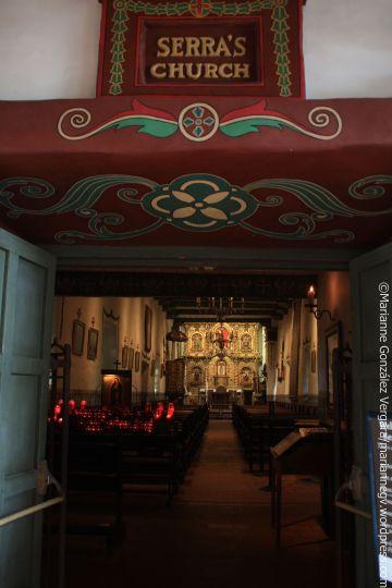 Serra Church. Mission San Juan Capistrano. California.