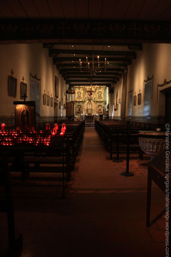 Serra Church. Mission San Juan Capistrano. California.