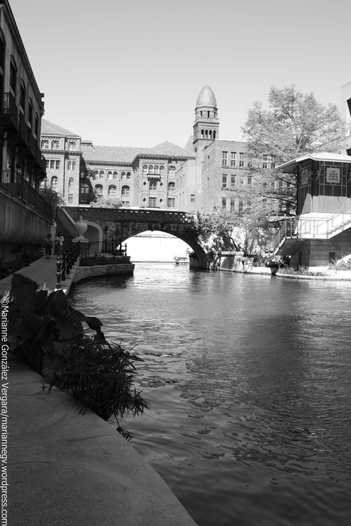 The River Walk. San Antonio, Texas.