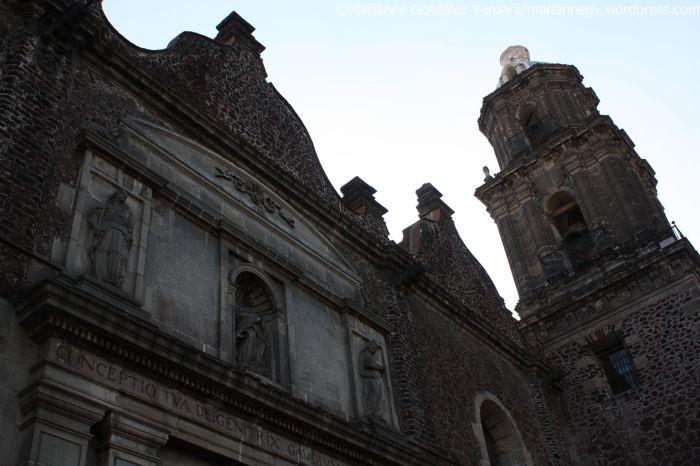 Metropolitan Cathedral. Mexico City Downtown.