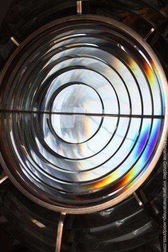Fresnel Lens. Anacapa Island Lighthouse. California