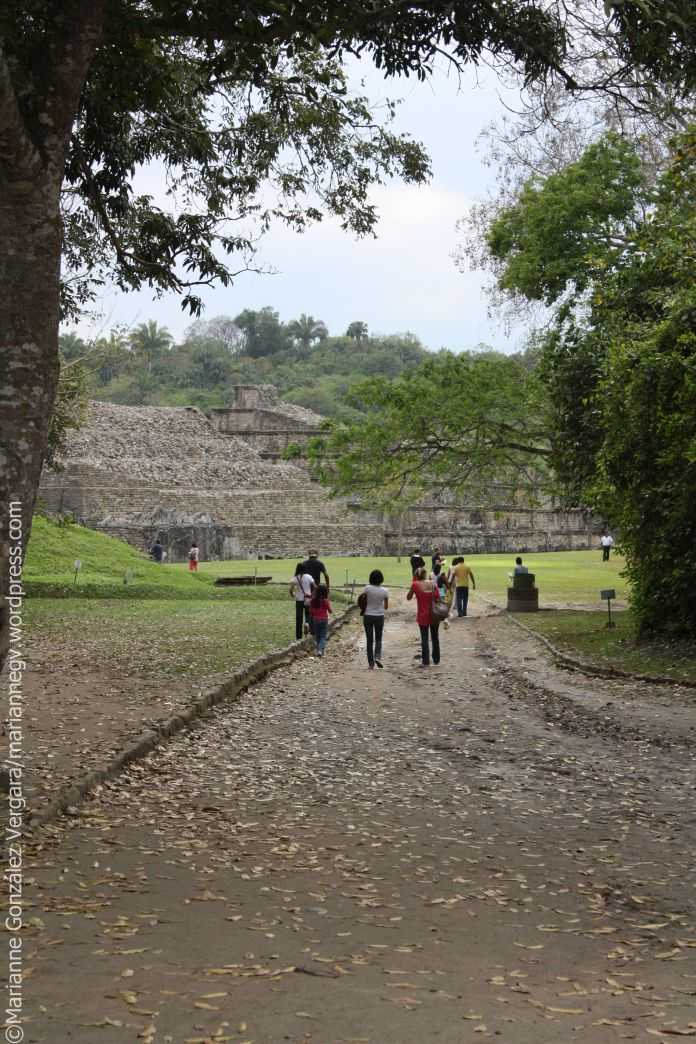 Archaeological site of Tajin. Veracruz, Mexico.